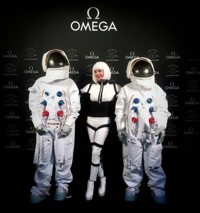 Amy Redmo for Omega