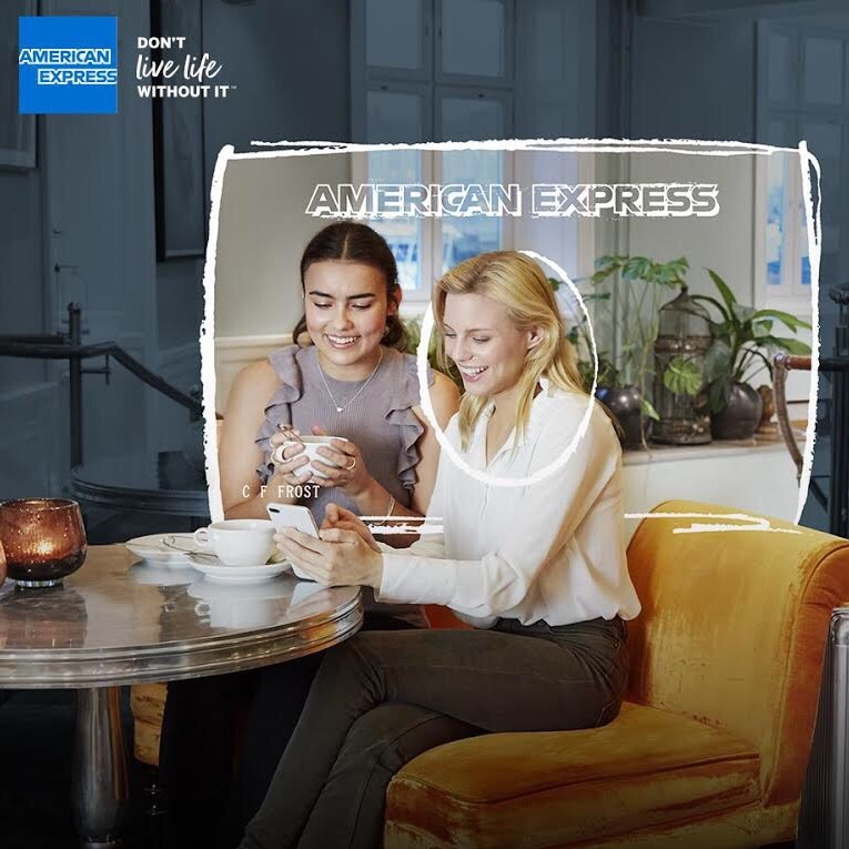 Amy Redmo for American Express